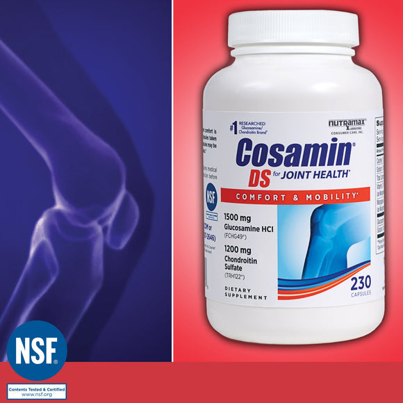 Cosamin DS for Joint Health, 230 Capsules