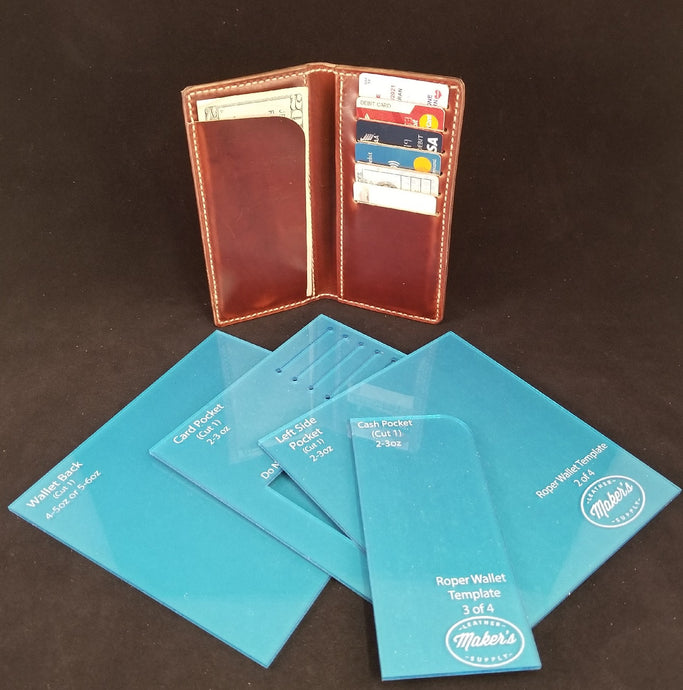 Roper Wallet Acrylic Template Set