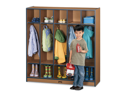 SPROUTZ® COAT LOCKER - 5 SECTIONS - 4 Colors by Jonti Craft
