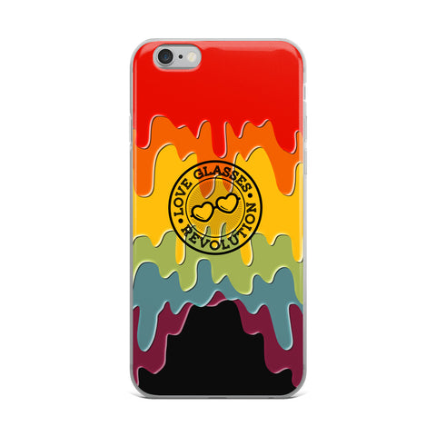 Paint Drip by Darian Collection iPhone Case