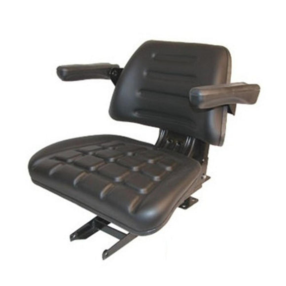 1-008000167B91 Black Vinyl Complete Seat - Reliable Aftermarket Parts, Inc