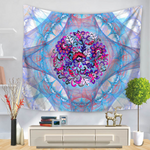 3D Mandala Floral Printing Wall Hanging Tapestry Home Living Room Art Decor Tapestry Beach Towel