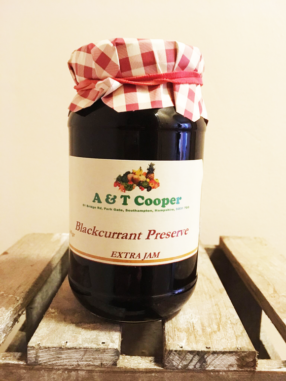 Blackcurrant Preserves