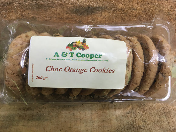 Cookie - Orange Choc Chip