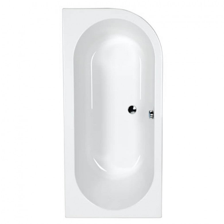 Eastbrook Status Carronite Double-Ended Bath - 1700 x 725mm