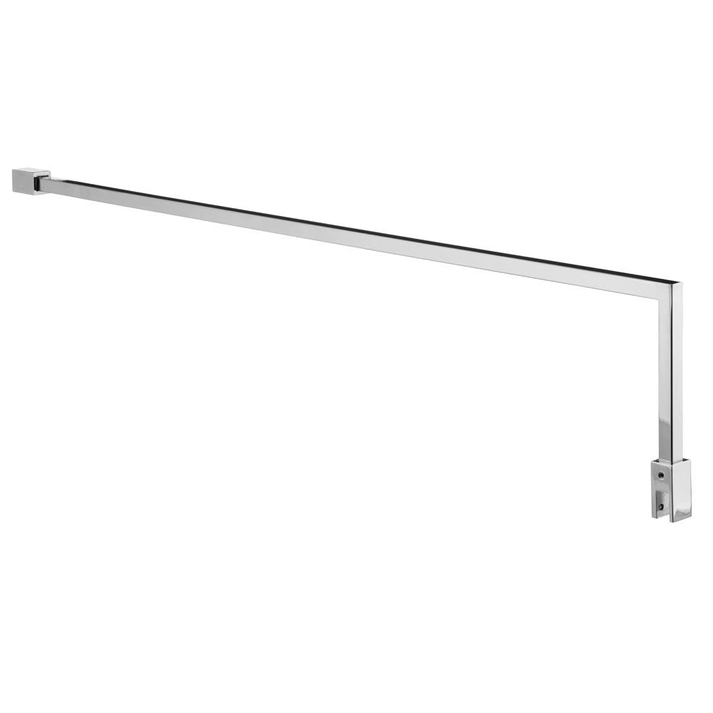 Hudson Reed Chrome Square Fixed Wet Room Support Arm