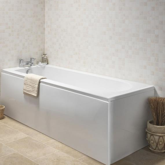 Pura Curve 1800 x 800mm Single Ended Bath