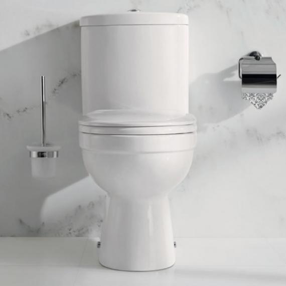Pura Ivo Compact Close Coupled Toilet & Seat