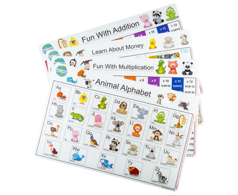 Easy Learner Placemats - Set of 4