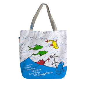Amooze - Dr Suess - One Fish Two Fish - Tote