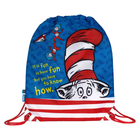 Amooze - Dr Suess - The Cat In The Hat - Drawstring Bag
