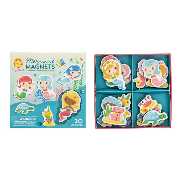 Tiger Tribe - Mermaid Magnets