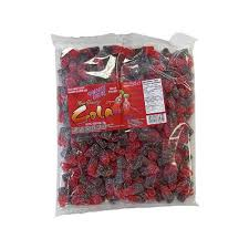 Gummy Zone Sour Cherry Cola Bottles bulk 1kg 12's - Bulk Candy - Morris National - Tevan Enterprises Confectionary