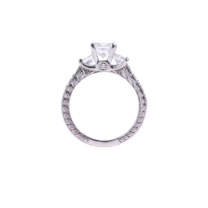 Platinum Diamond Engagement Ring