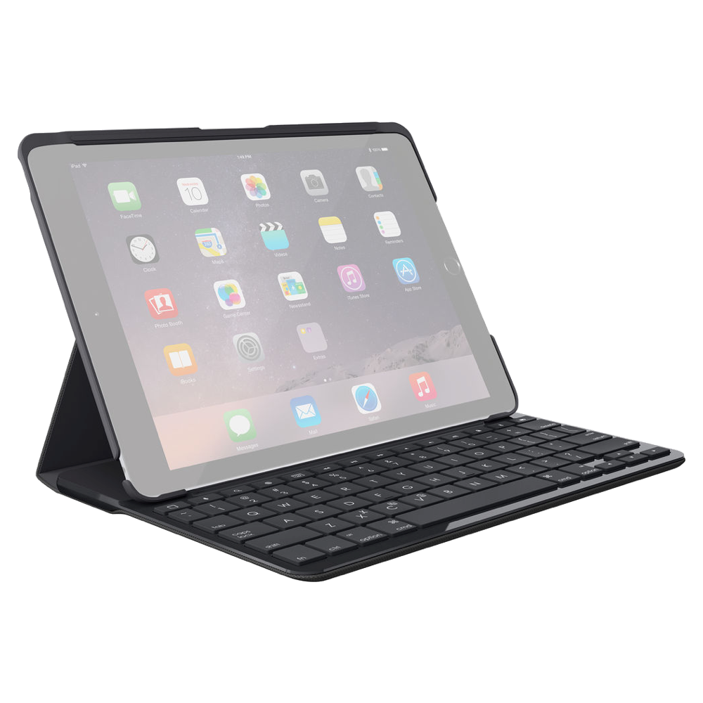 Logitech Slim Folio Keyboard Case for 2017/2018 Apple iPad 9.7""