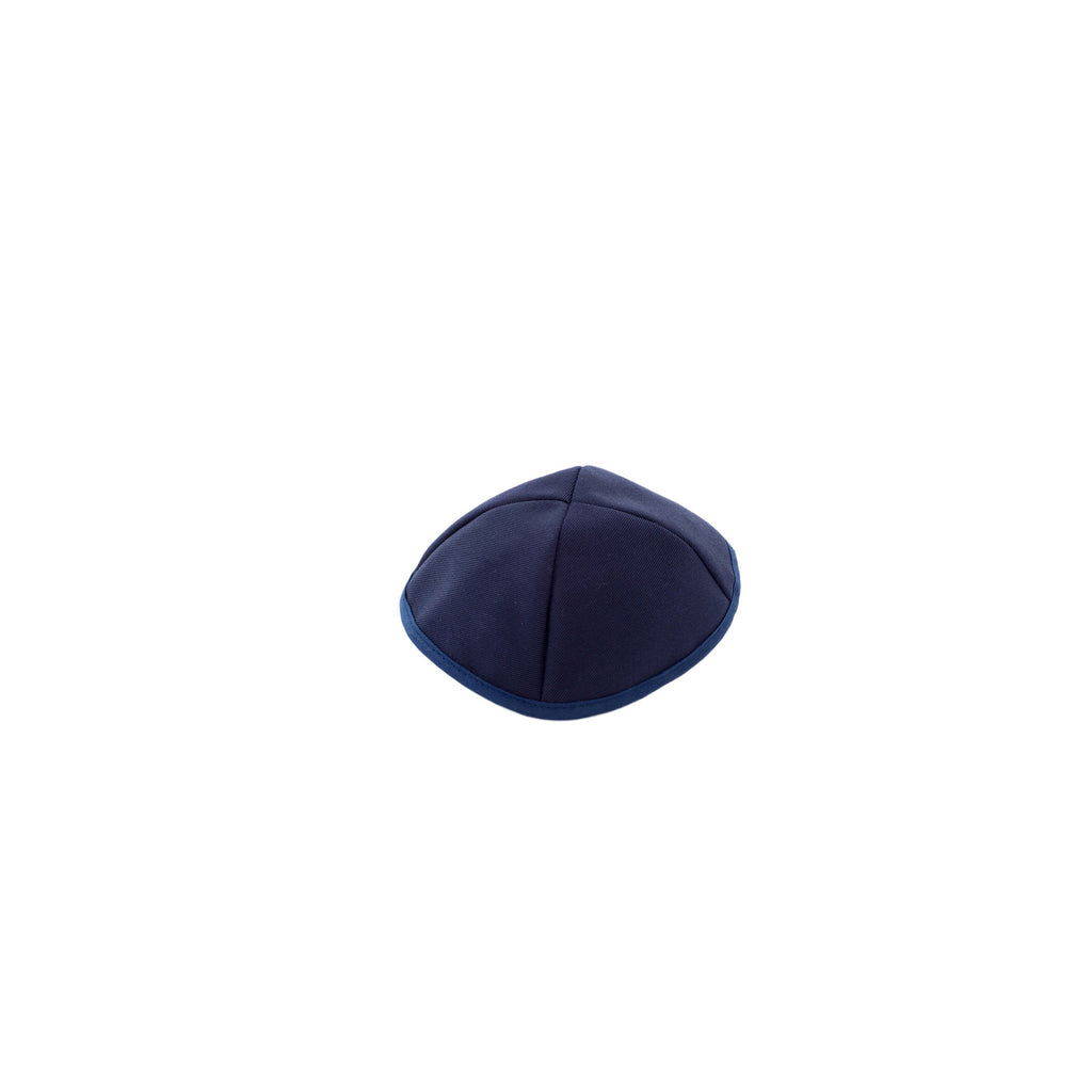 Plain Navy Kippot