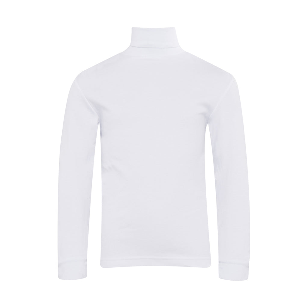 Plain White Roll Neck