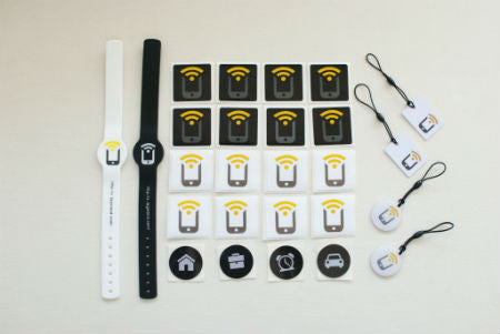 Tagstand NFC Variety Pack (20 NFC stickers + Wristbands + Hang Tags) - Tagstand NFC Variety Pack - Tagstand NFC Variety Pack