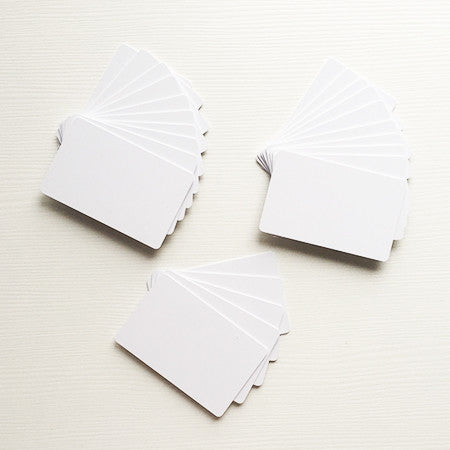 Bulk PVC Cards - NTAG213 - Pack of 25