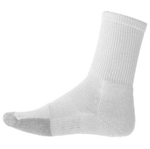 Thorlo Crew Socks Unisex White