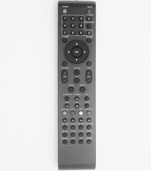 REPLACEMENT Dick Smith Remote Control -   GE6600 GE6601 GE6602 GE6603 GE6606 GE6607 GE6608 GE6807  Dick Smith TV