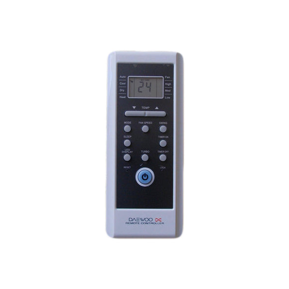 DAEWOO Air Conditioner Remote Control - R18A/BGE