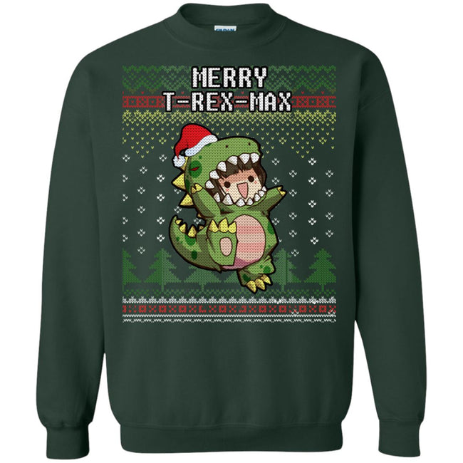 T-Rex Xmas Ugly Christmas Sweater