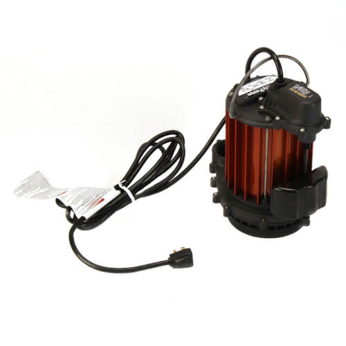 Liberty Submersible Pump with Vertical Magnetic Float Switch (1/3hp) - 237