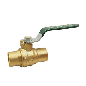 "RWV 2"" LF Brass Full Port Ball Valve - 5595AB"