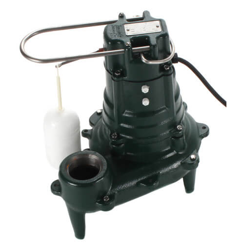 Zoeller Model 267 Sewage Pump, Cast Iron Submersible (1/2hp) - 267-0001