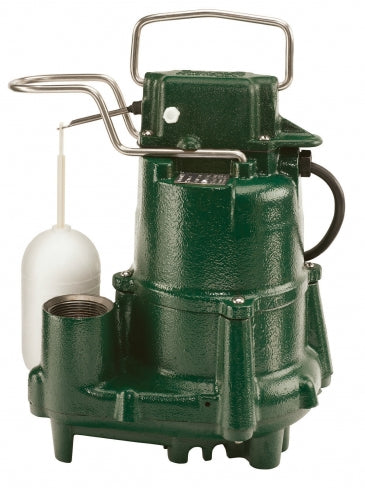 Zoeller Model 98 Sump Pump, Cast Iron Submersible (1/2hp) - 98-0001