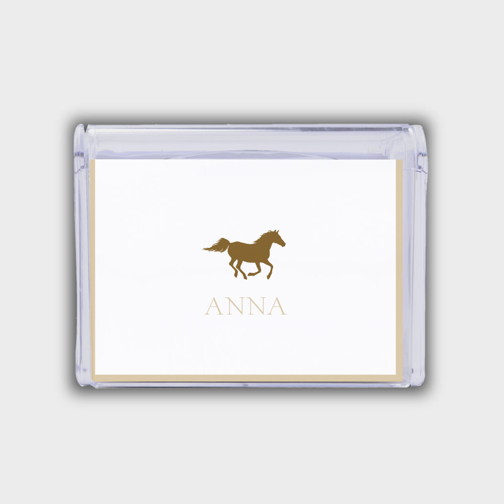Horse Note Box