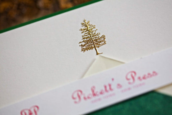 Fir Tree Note Cards