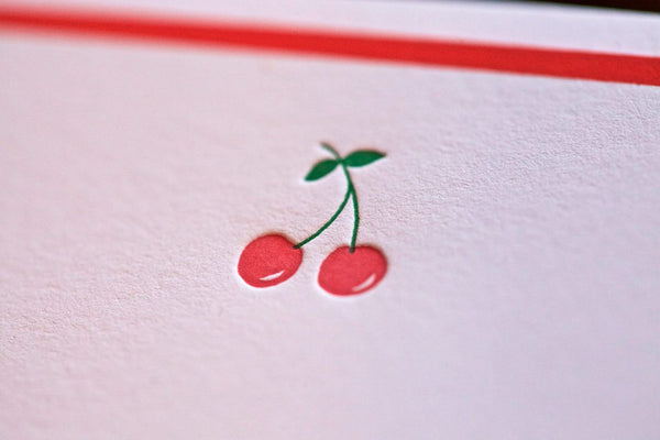 Cherries Note Cards