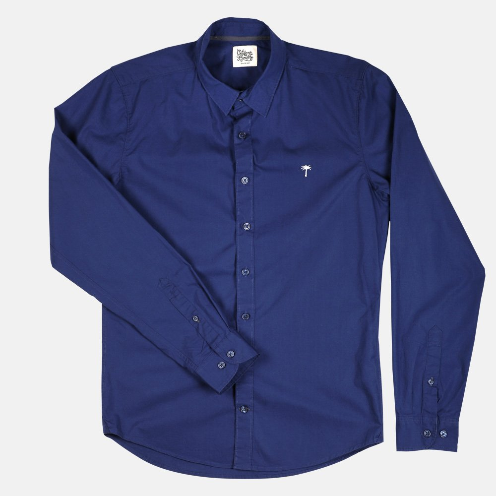 Shirt Navy Palmito
