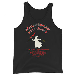 Crossing the Fence Spooky Unisex  Tank Top