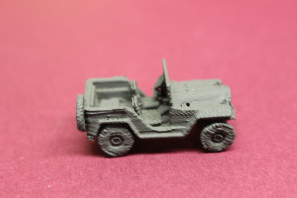 1-87TH SCALE 3D PRINTED WWII RUSSIAN GAZ 67 JEEP