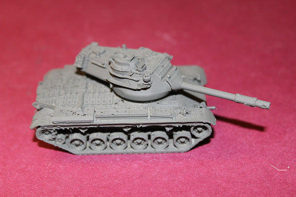 1/72ND SCALE 3D PRINTED WW II U. S. ARMY POST WAR M-47 PATTON TANK