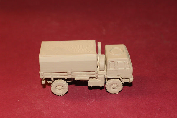 1-72ND SCALE 3D PRINTED IRAQ WAR U.S. ARMY M1078 LMVT COVERED