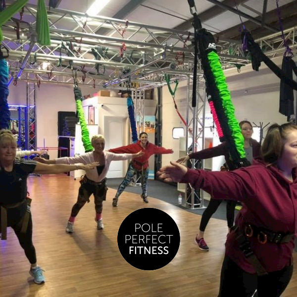 Pole Perfect Fitness UK Bungee Fitness Class