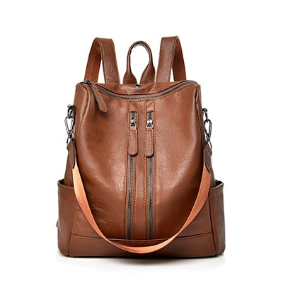 Tania Women's Leather Backpack