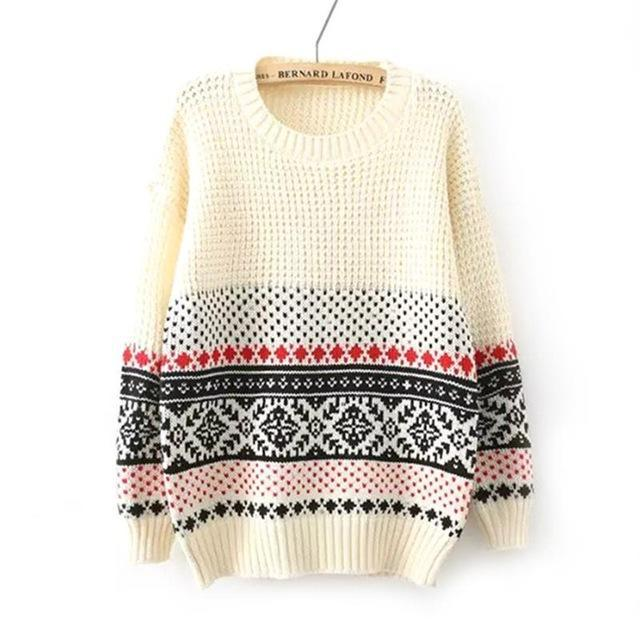 Warm Knitted Pullover - Girly Got Style