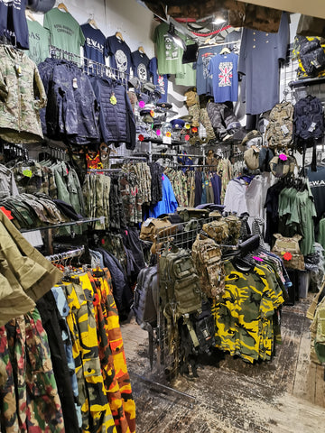 army and navy shop soulja military