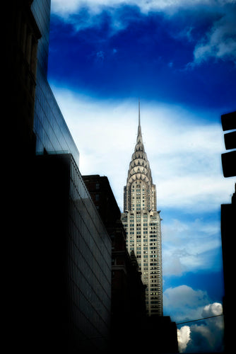 Chrysler Building i Solskin