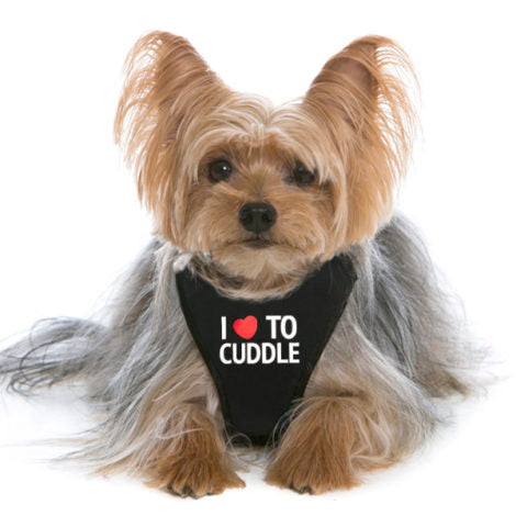 I Love To Cuddle WagSwag Harness Set