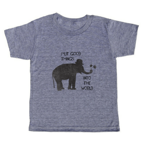 Put Good Things Into the World T-Shirt - Sugarboo and Co