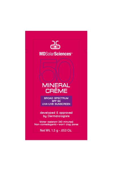MDSolarSciences SPF 50 Mineral Creme Sample