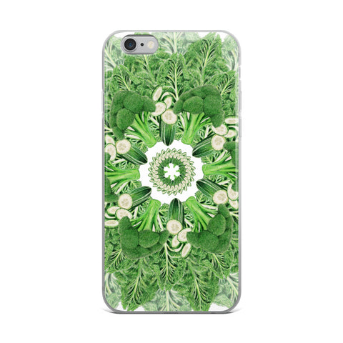 iPhone Case with Dark Green