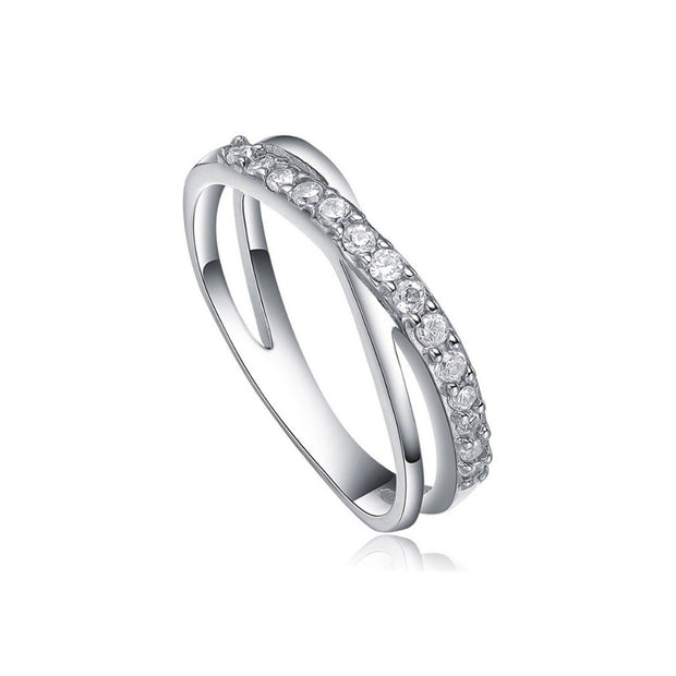 ANILLO DESTIN PLATA ITALIANA
