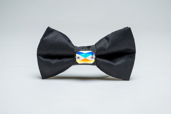 Furdrobe Classic Black Bow Tie for Dogs
